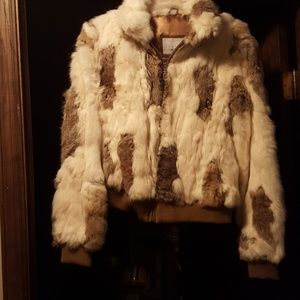 Wilson medium real fur jacket.